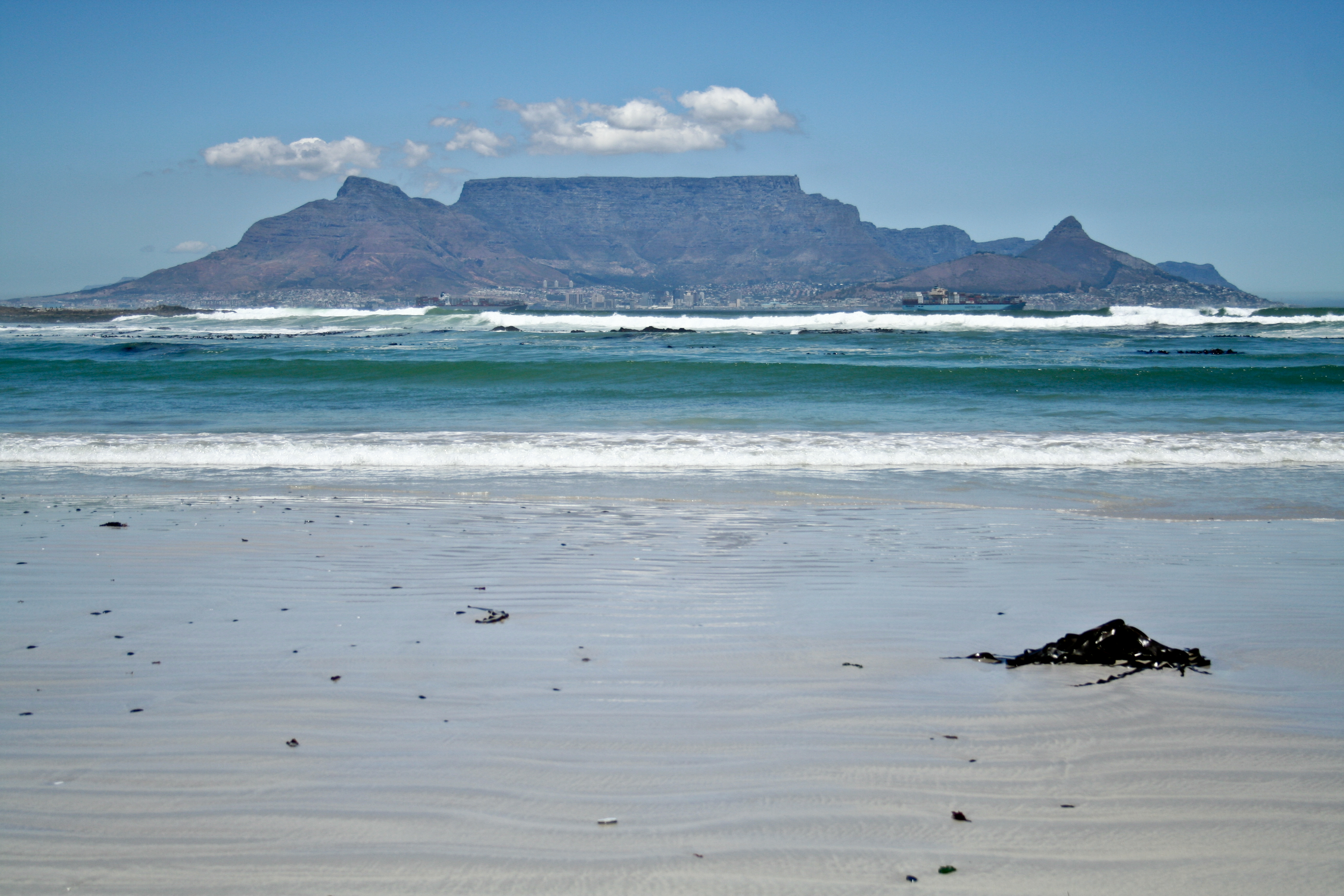 table mountain in sud africa