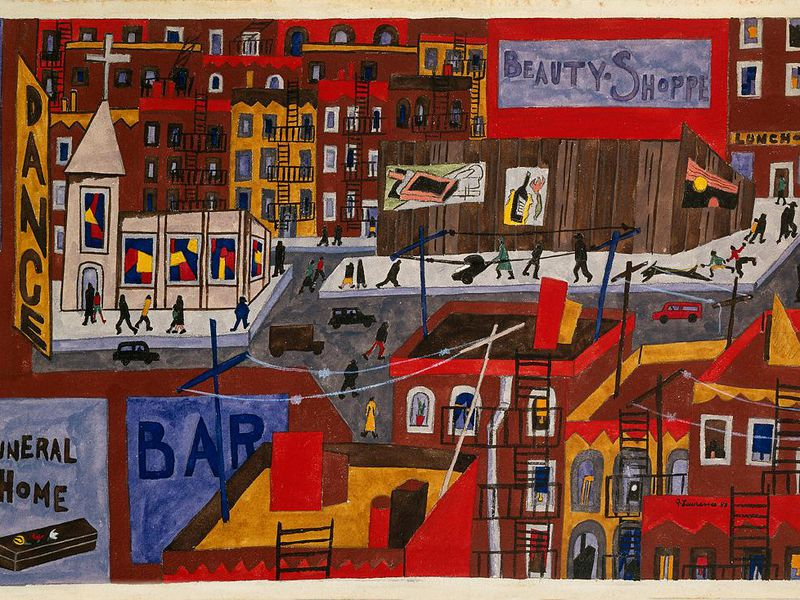 Jacob Lawrence, This is Harlem